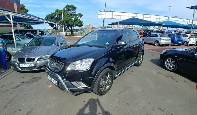 2012 Ssangyong korando 2.2 crd auto for sale in Durban full